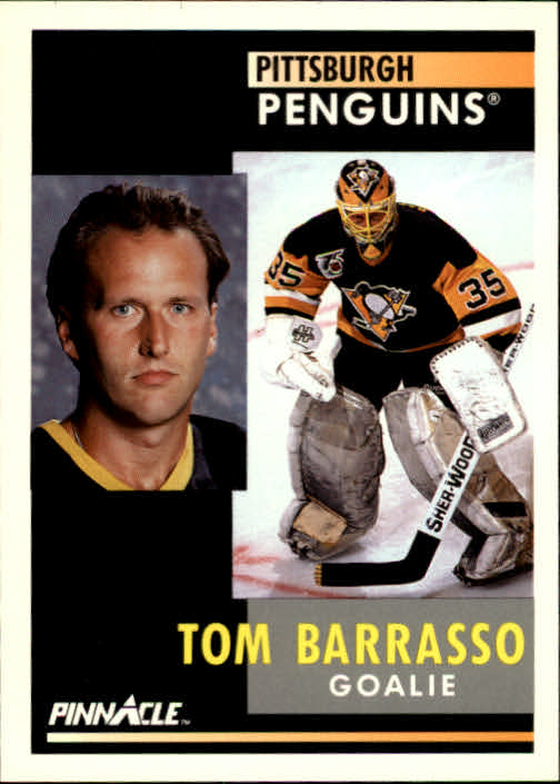 1991-92 Pinnacle #44 Tom Barrasso