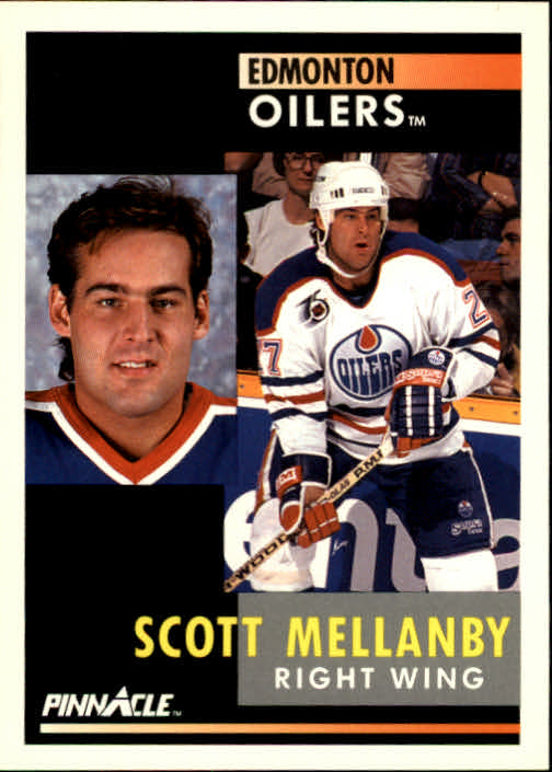 1991-92 Pinnacle #45 Scott Mellanby