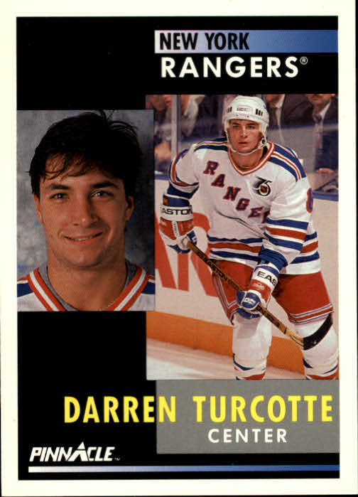 1991-92 Pinnacle #47 Darren Turcotte