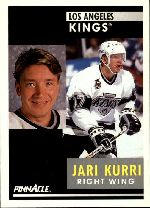 1991-92 Pinnacle #48 Jari Kurri