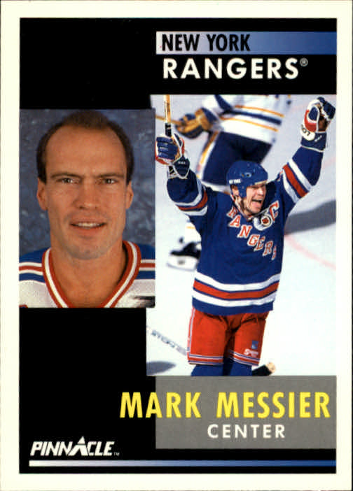 1991-92 Pinnacle #50 Mark Messier