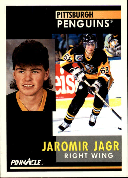 1991-92 Pinnacle #53 Jaromir Jagr