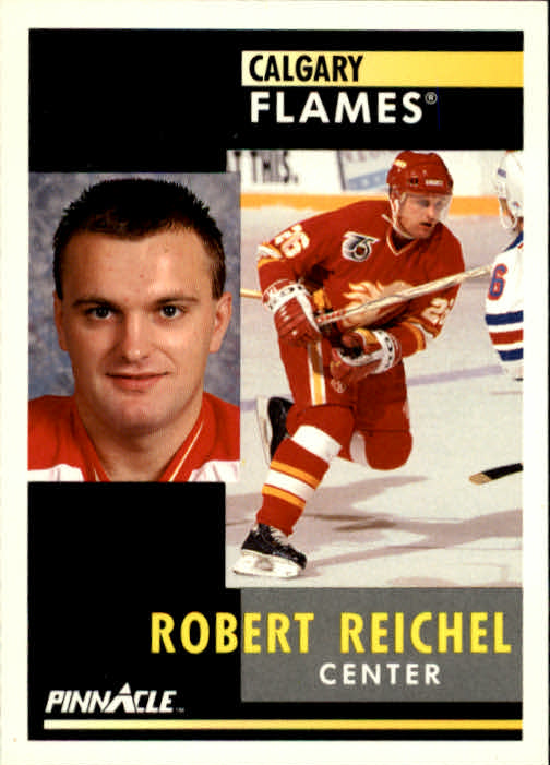 1991-92 Pinnacle #56 Robert Reichel