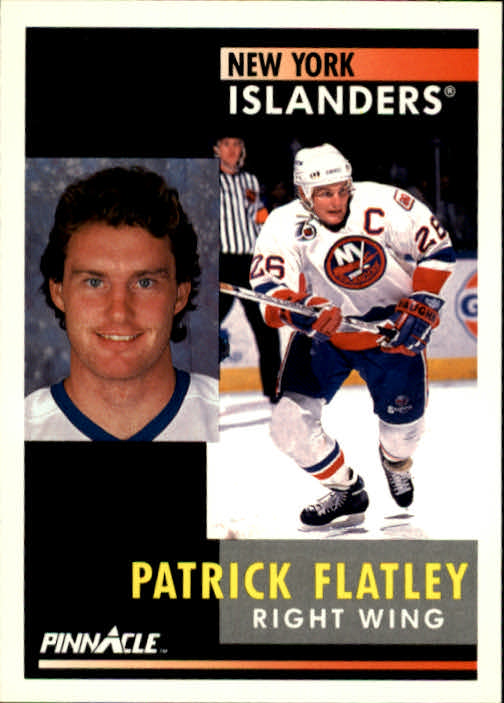 1991-92 Pinnacle #67 Pat Flatley