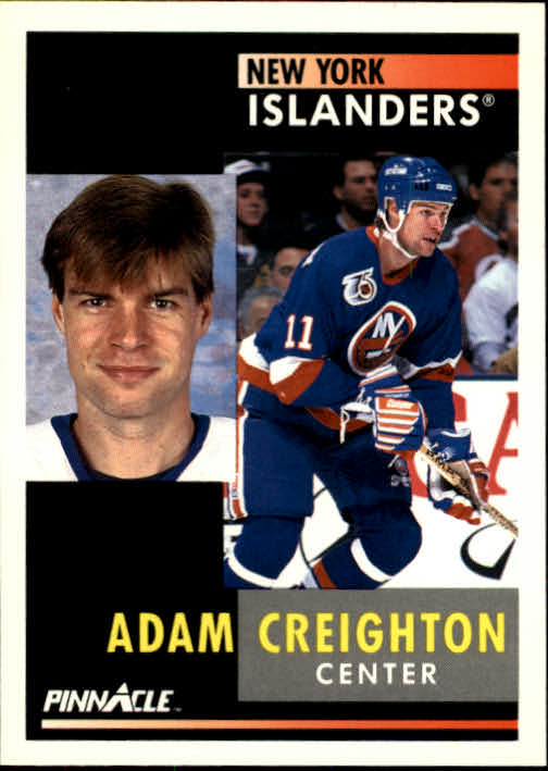 1991-92 Pinnacle #82 Adam Creighton