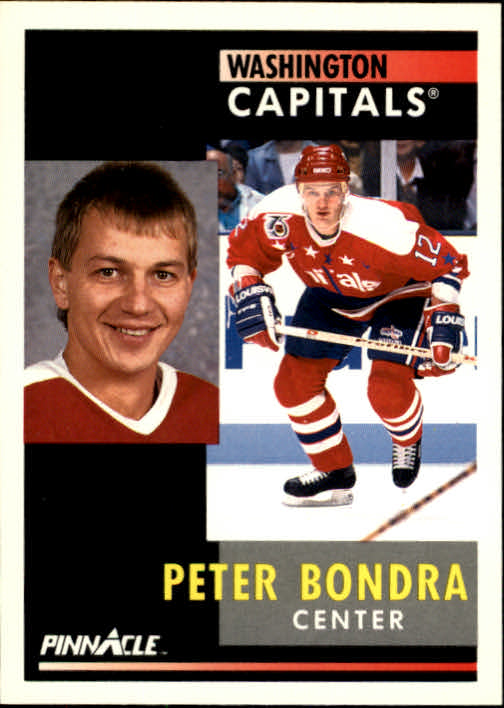 1991-92 Pinnacle #87 Peter Bondra