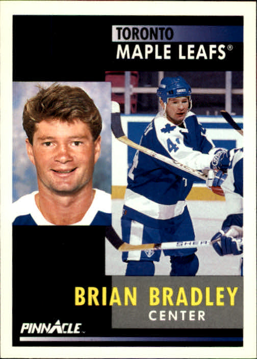 1991-92 Pinnacle #90 Brian Bradley