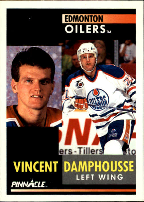1991-92 Pinnacle #91 Vincent Damphousse