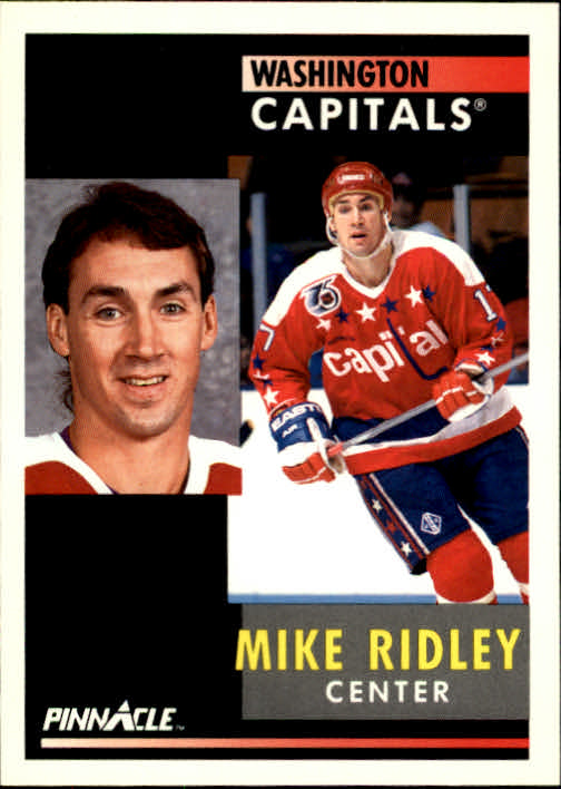 1991-92 Pinnacle #94 Mike Ridley
