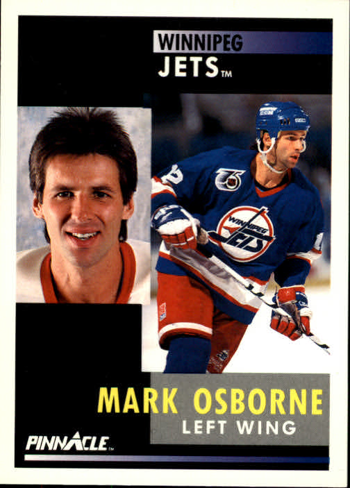 1991-92 Pinnacle #96 Mark Osborne