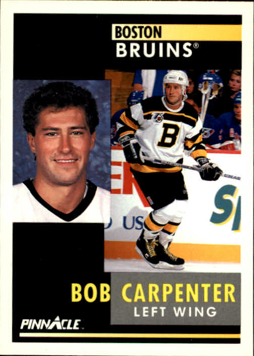1991-92 Pinnacle #99 Bob Carpenter