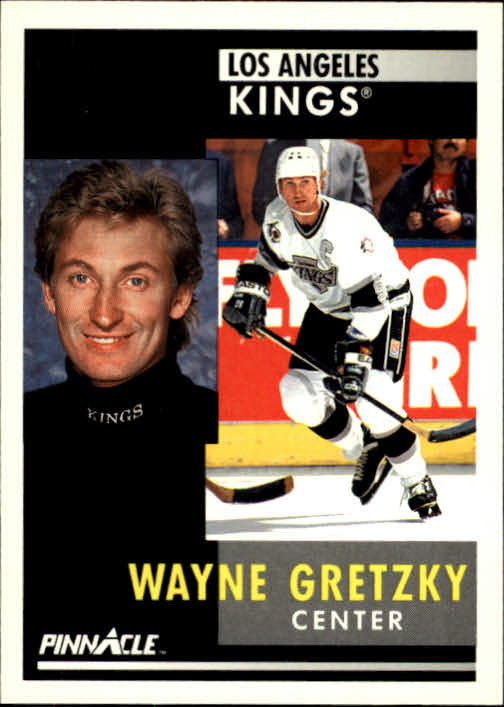 1991-92 Pinnacle #100 Wayne Gretzky