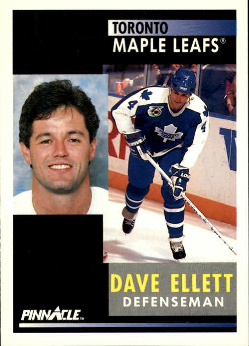 1991-92 Pinnacle #111 Dave Ellett
