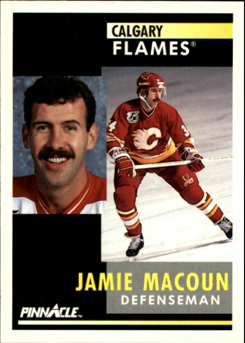 1991-92 Pinnacle #114 Jamie Macoun