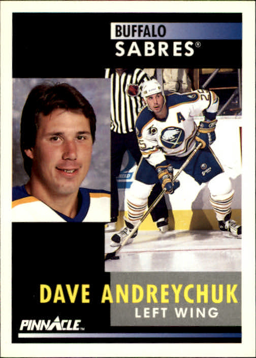 1991-92 Pinnacle #122 Dave Andreychuk