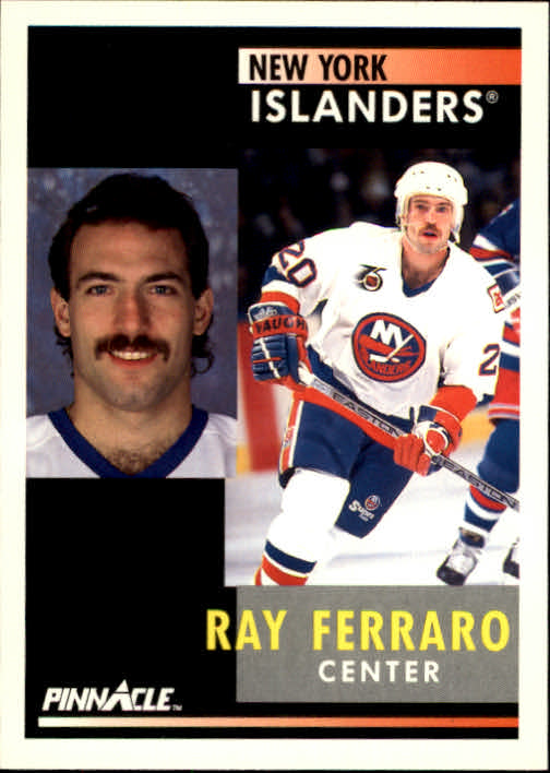 1991-92 Pinnacle #123 Ray Ferraro