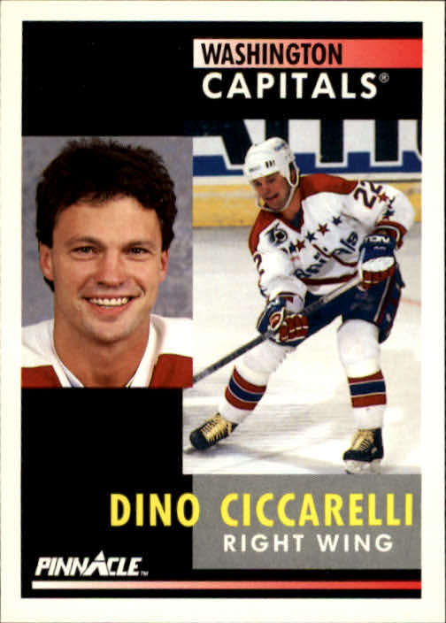 1991-92 Pinnacle #128 Dino Ciccarelli