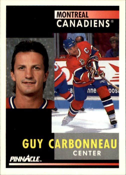 1991-92 Pinnacle #130 Guy Carbonneau