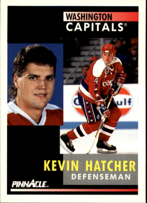 1991-92 Pinnacle #131 Kevin Hatcher