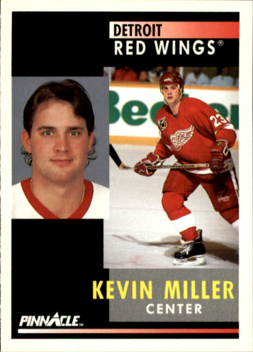 1991-92 Pinnacle #133 Kevin Miller