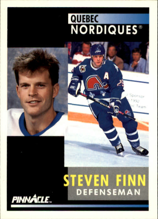 1991-92 Pinnacle #138 Steven Finn
