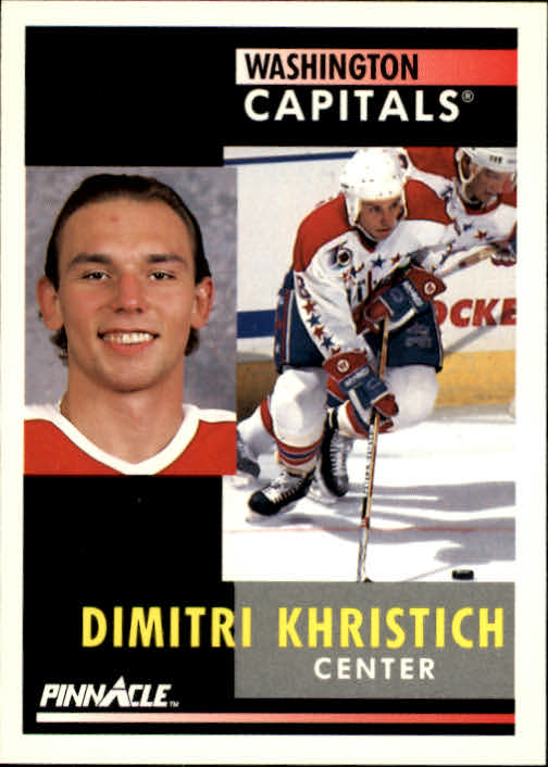 1991-92 Pinnacle #162 Dimitri Khristich