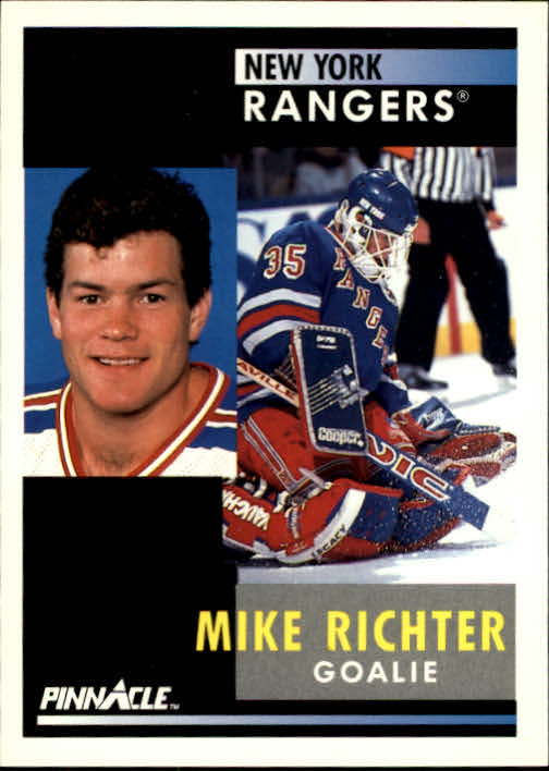 1991-92 Pinnacle #164 Mike Richter