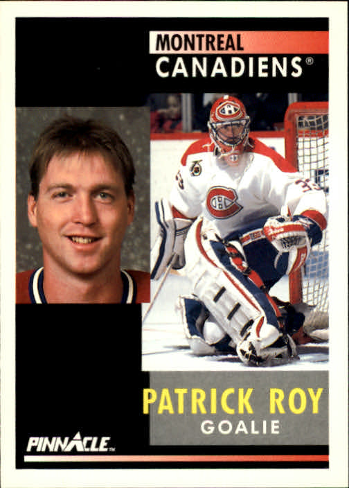 1991-92 Pinnacle #175 Patrick Roy