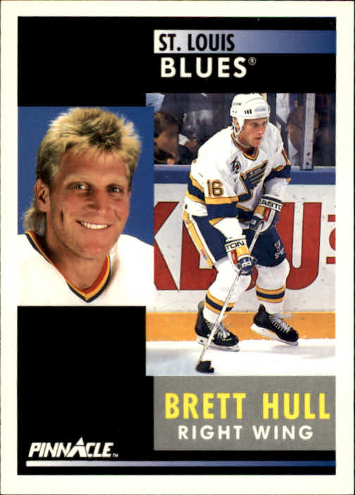 1991-92 Pinnacle #200 Brett Hull