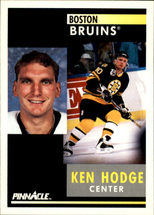 1991-92 Pinnacle #203 Ken Hodge Jr.