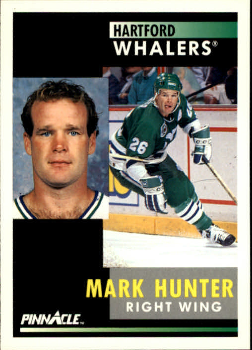 1991-92 Pinnacle #253 Mark Hunter
