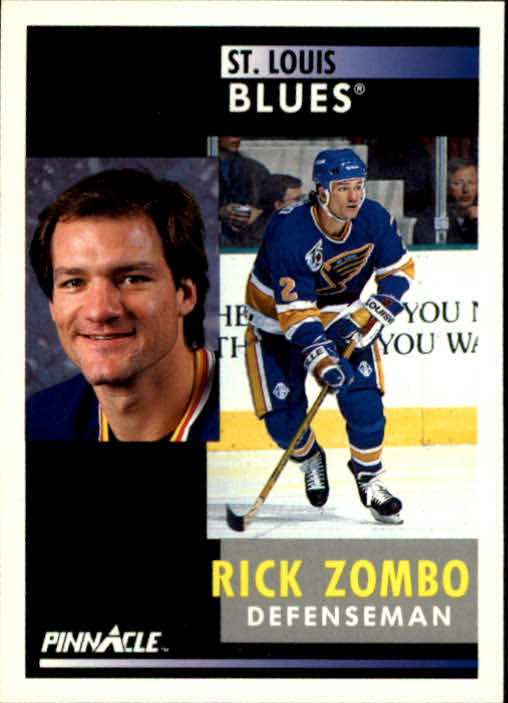 1991-92 Pinnacle #259 Rick Zombo