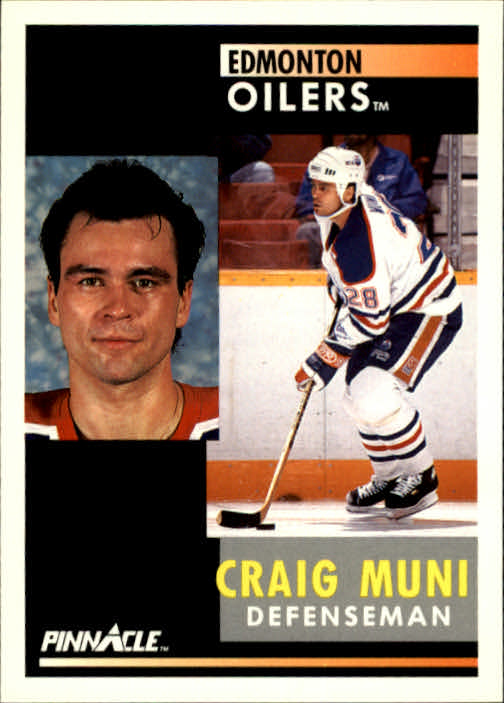 1991-92 Pinnacle #262 Craig Muni