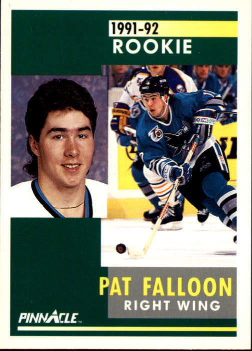 1991-92 Pinnacle #329 Pat Falloon