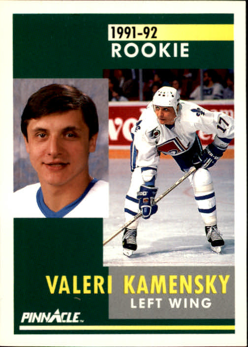 1991-92 Pinnacle #340 Valeri Kamensky RC