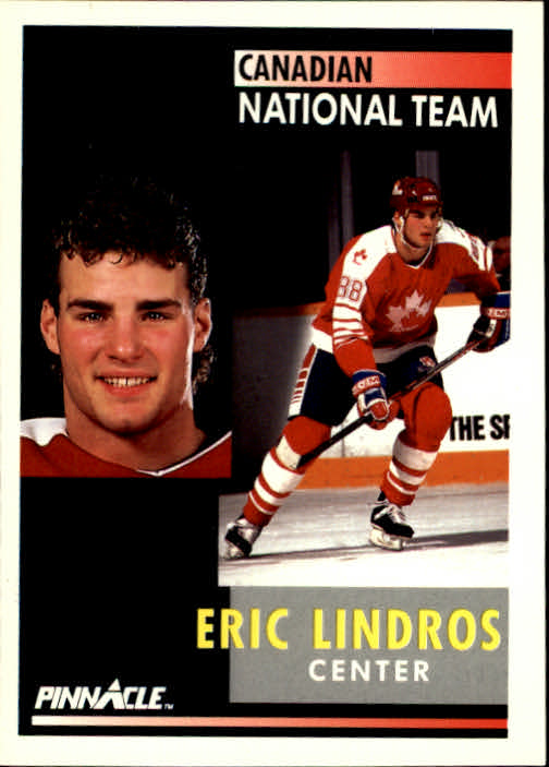 1991-92 Pinnacle #365 Eric Lindros