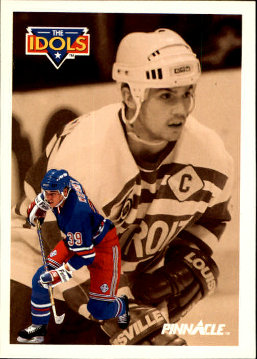 1991-92 Pinnacle #383 Doug Weight IDOL/(Steve Yzerman)