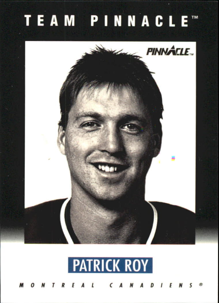1991-92 Pinnacle B #B1 Patrick Roy