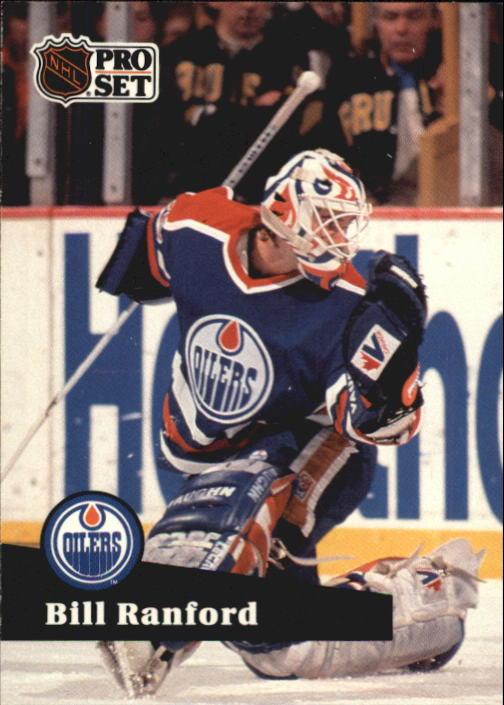 1991-92 Pro Set #70 Bill Ranford