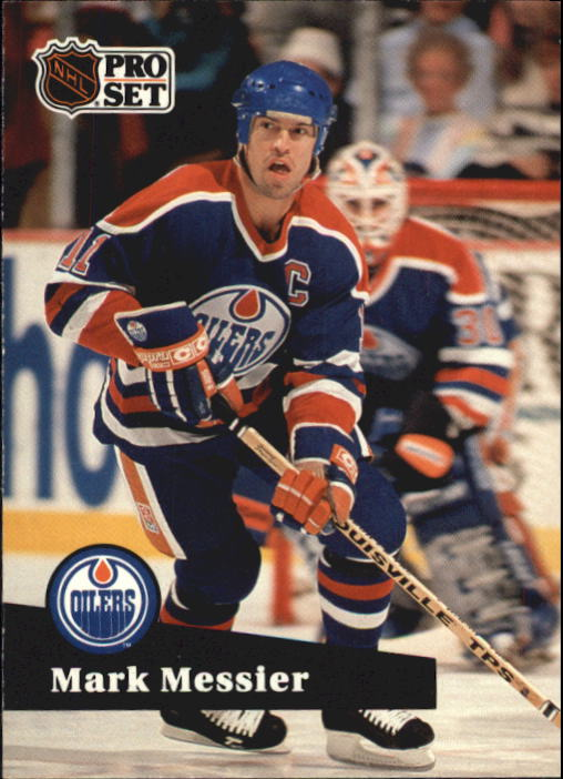 1991-92 Pro Set #74 Mark Messier