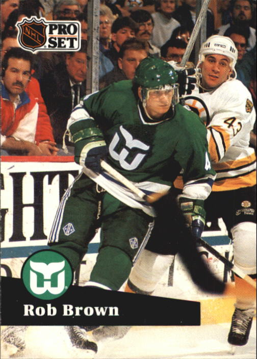 1991-92 Pro Set #80 Rob Brown