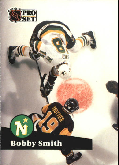 1991-92 Pro Set #115 Bobby Smith