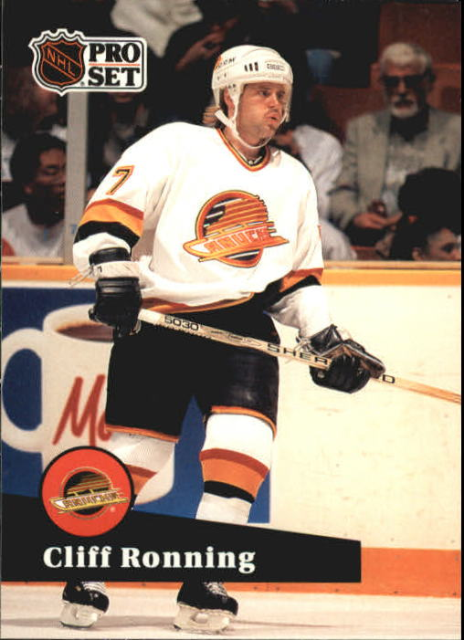 1991-92 Pro Set #241 Cliff Ronning