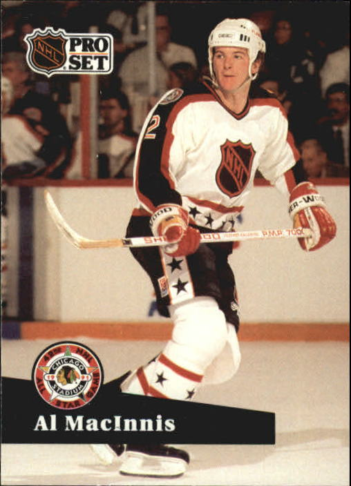 1991-92 Pro Set #275 Al MacInnis AS