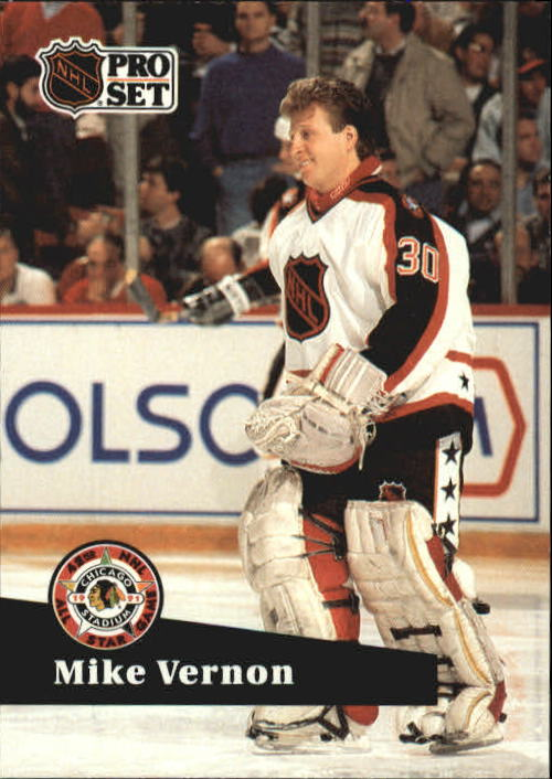 1991-92 Pro Set #277 Mike Vernon AS