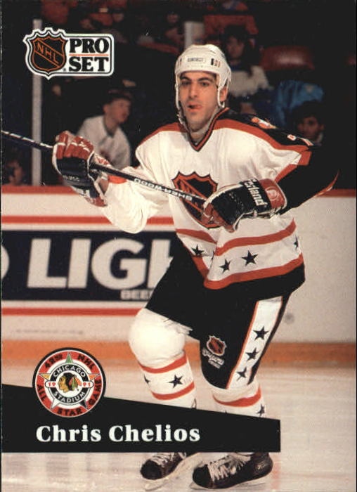 1991-92 Pro Set #278 Chris Chelios AS