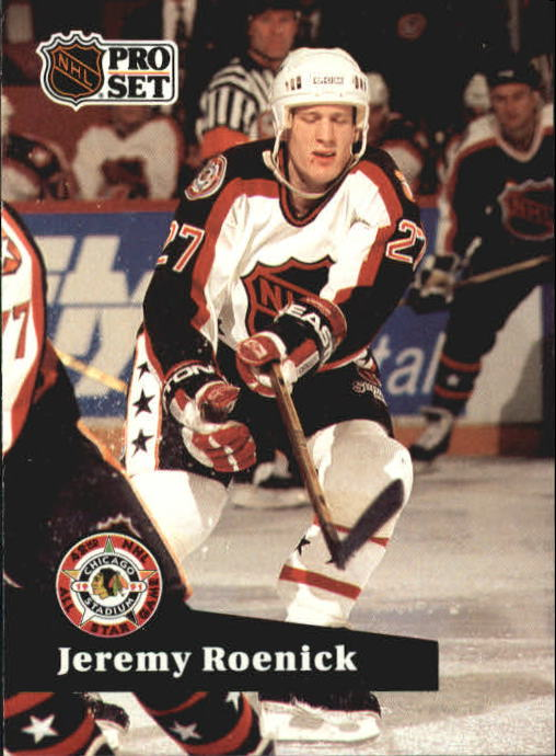 1991-92 Pro Set #280 Jeremy Roenick AS