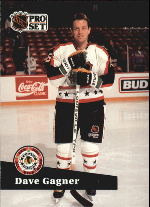 1991-92 Pro Set #288 Dave Gagner AS