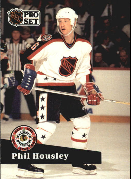 1991-92 Pro Set #295 Phil Housley AS