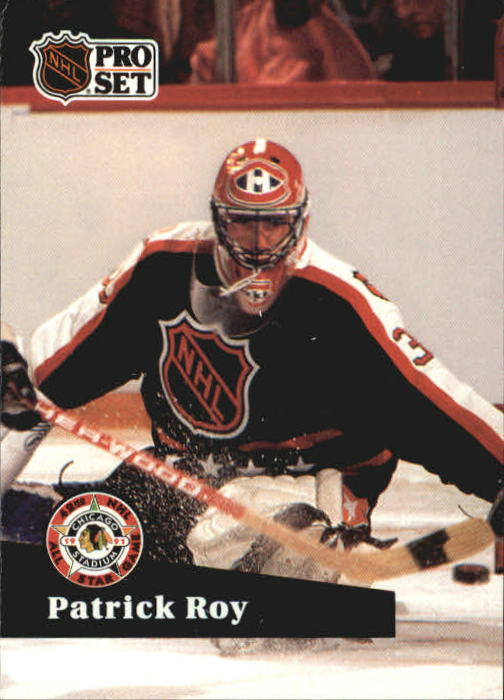1991-92 Pro Set #304 Patrick Roy AS